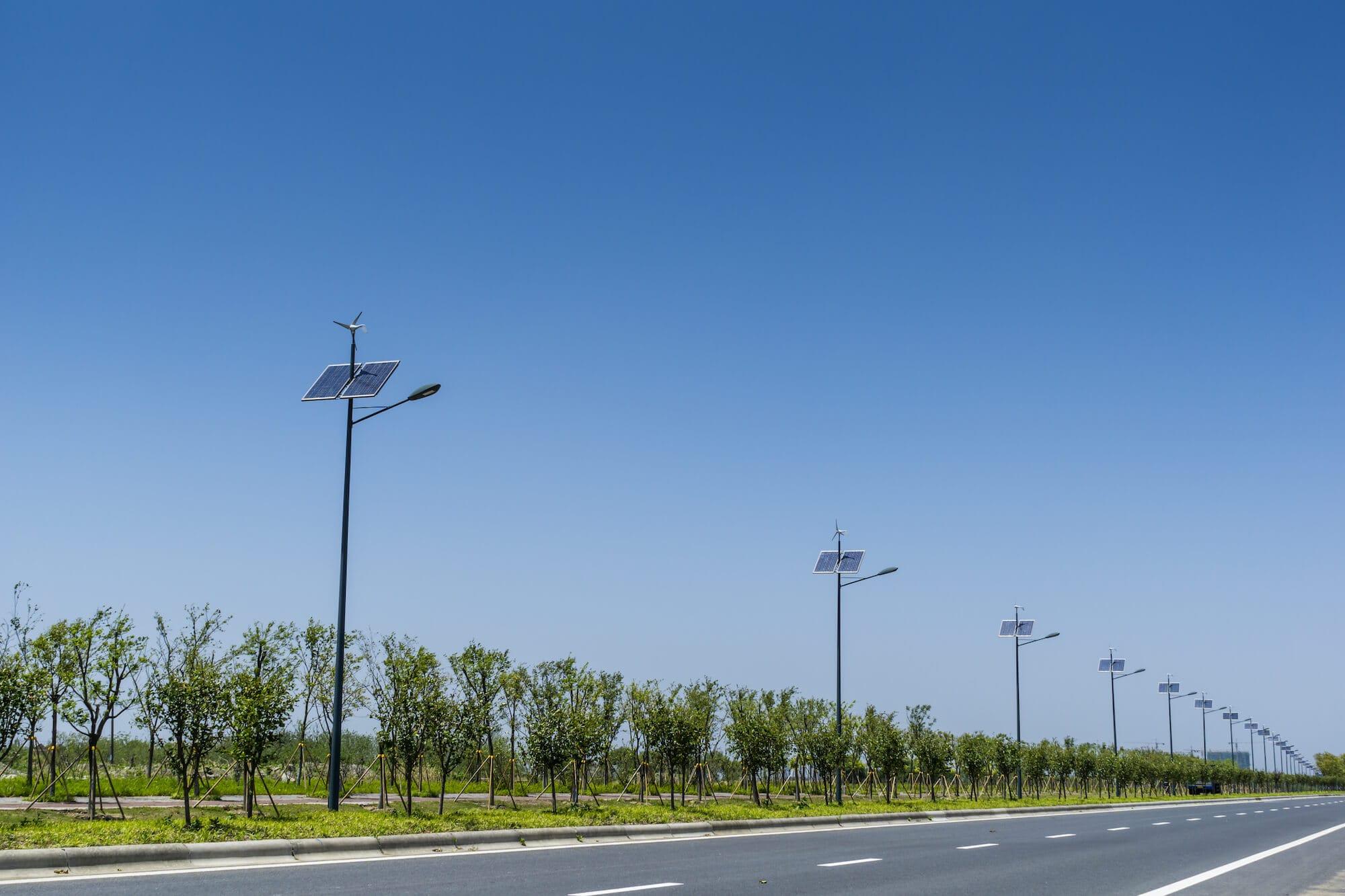 100% Funding | Solar Street Lighting