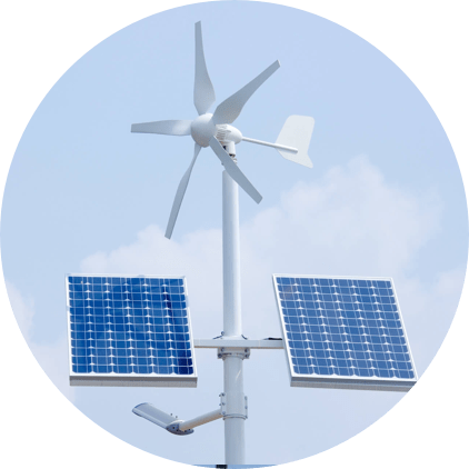 Solar & Wind – Hybrid Lighting